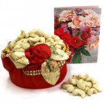 Kaju Basket - Cashew in Decorative Basket