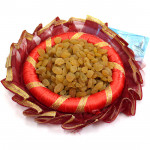 Decorative Thali - Raisin in Decorative Thali