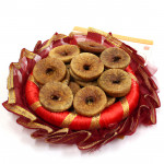 Fig Thali - Anjeer in Decorative Thali