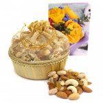 Decorative Assortment - Assorted Dryfruits in Decorative Basket