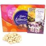 Kaju Celebration - Cashewnuts, Cadbury Celebrations