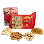 Rejoicing Treat - Assorted Dryfruits, Soan Papdi 250 gms