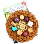 Awesome Gift - Cashewnuts and Almonds, Handmade Chocolates
