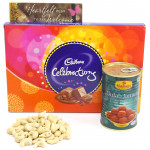 Distinguished Taste - Cashewnuts, Gulab Jamun Tin 500 gms, Cadbury Celebrations
