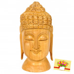 Wooden Lord Budha