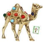 Golden Stone Studded Camel