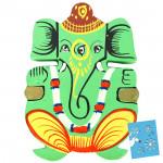 Bright Ganesha Magnet