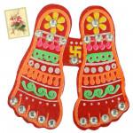 Laxmi Footstep Magnet