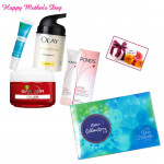 Celebration For Mom - Complete Protection, Celebrations 121 gms and Card