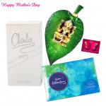 Fragrant Love - Charlie White Perfume 100 ml, Celebrations 121 gms, Laxmi on Leaf and Card