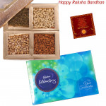 Choco Nutty - Celebrations, Assorted Dryfruits 400 gms (Rakhi & Tika NOT Included)