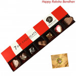 7 Day Chocolate Pack (Rakhi & Tika NOT Included)