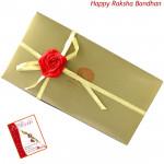 Gold Ballotin (Rakhi & Tika NOT Included)