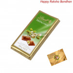 Lindt Pistachio Swiss Milk Chocolate (Rakhi & Tika NOT Included)