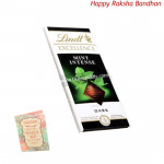 Lindt Excellence Mint Intense (Rakhi & Tika NOT Included)