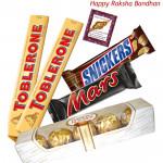 Assortment of 5 Imported Bars (Rakhi & Tika NOT Included)