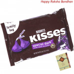 Hershey's Kisses - Special Dark (Rakhi & Tika NOT Included)
