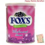 Fox's Crystal Clear - Blackcurrant Flavour (Rakhi & Tika NOT Included)