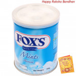 Fox's Crystal Clear - Mint Flavour (Rakhi & Tika NOT Included)