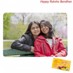 Personalized Jigsaw Puzzle - 6 inches x 8 inches (Rakhi & Tika NOT Included)