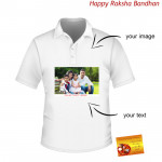 Photo Printed on T-Shirt (Rakhi & Tika NOT Included)