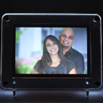 Rectangular LED Frame - 6 inches X 8 inches (Rakhi & Tika NOT Included)