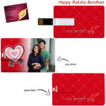 Credit Card Pen Drive 8 GB (Rakhi & Tika NOT Included)