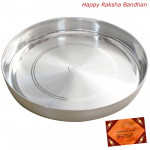 Pure Silver Thali & Card