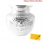 Silver Kalash - 50 grams (Rakhi & Tika NOT Included)