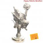Silver Hanuman Idol - 20 grams (Rakhi & Tika NOT Included)