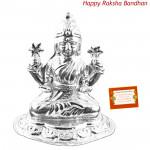 Silver Laxmi Idol - 10 grams (Rakhi & Tika NOT Included)