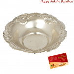 Silver Prasadpatra - 22 grams (Rakhi & Tika NOT Included)