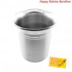 Ethnic Silver Glass - 20 grams (Rakhi & Tika NOT Included)
