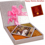 Ideal Gift Combo - Kaju Mix 500 gms, Namkeen 500 gms (Rakhi & Tika NOT Included)