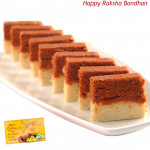 Chocolate Barfi (Rakhi & Tika NOT Included)