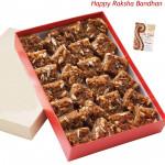 Dodha Barfi 500 Gms (Rakhi & Tika NOT Included)