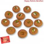 Mathura Peda 500 Gms (Rakhi & Tika NOT Included)