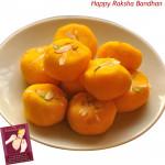Kesar Penda (Rakhi & Tika NOT Included)