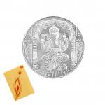 Silver Ganesh Coin (5 Grams)