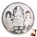 Silver Trimurti Coin (20 Grams)