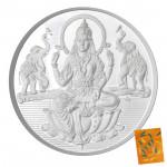 Silver Laxmi Coin (100 Grams)