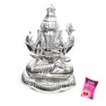 Silver Ganpati Idol