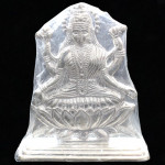 Silver Fancy Laxmi Idol