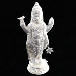 Silver Vishnu Idol