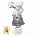 Silver Swaminarayan Idol