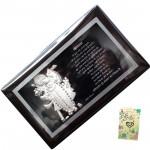 Silver Shreenathji Frame
