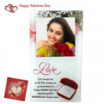 Love Photo Frame & Valentine Greeting Card