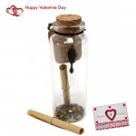 Messages in a Bottle & Valentine Greeting Card