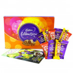 The Sweetest Surprise - Cadbury Celebrations, 4 Cadbury Dairy Milk, 3 Kit Kat, 3 Five Star and Card