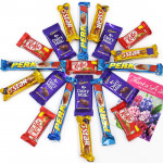 Special Surprise - 5 Cadbury Dairy Milk, 5 Five Star, 5 Kit Kat, 5 Perk and Card